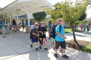 First Day of School in Queen Anne's County