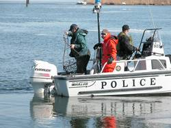 Help may be on the way for iced-in local oystermen