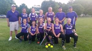 Easton Lions support Little League softball team