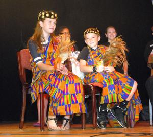 Sixth graders enjoy West African culture