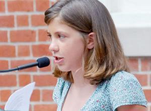 Douglass Essay Contest Winner Juliette Neil