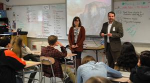 Talbot middle schoolers learn about career choices