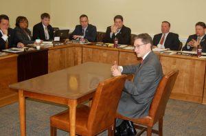 Acting MDE secretary visits Shore delegation