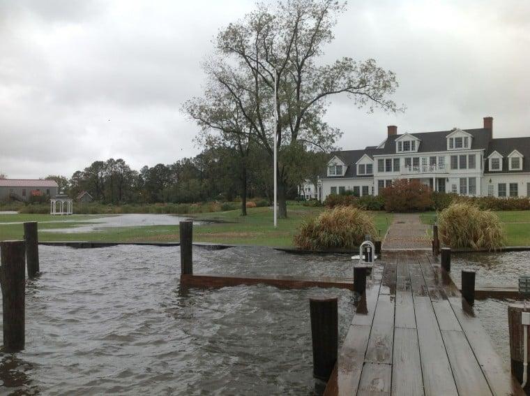 Hurricane Sandy Damage In St Michaels And Tilghman Island