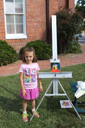 Children's Art Day at St. Luke's United Methodist Church