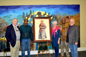Harriet Tubman painting unveiled in Cambridge