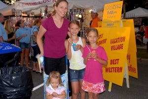 Friday Night At Caroline Summerfest: Amy Brandt and her daughters