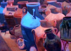Nancy Thomas painting
