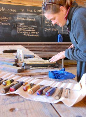 Woodworker's tool-sharpening workshop planned