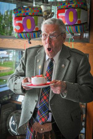St. Andrew's Society celebrates founding member's 100th birthday