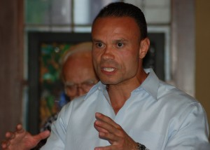 Dan Bongino gets his message out