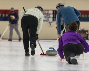 Curling at Talbot Community Center