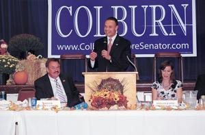 Dan Bongino speaks at Colburn banquet