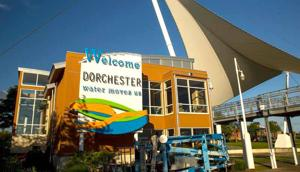 Dorchester Visitor Center unveils new welcome sign
