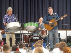 Sts. Peter and Paul students learn about steel drums
