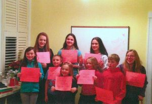 4-H club recognizes members' years of service