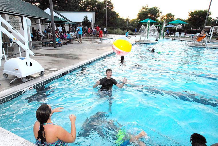 Swimming Pool Sink : Sink or swim graduates the star democrat easton
