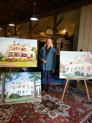 Paintings donated to the Heritage Museums and Gardens of Dorchester