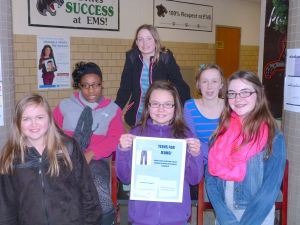 Troop 528 organizes Teens for Jeans drive