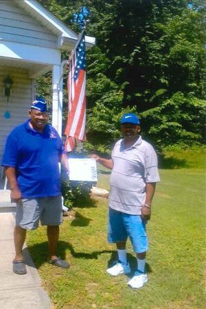 Local veteran wins fishing trip raffle