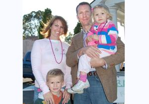 Sandy Saboury & family