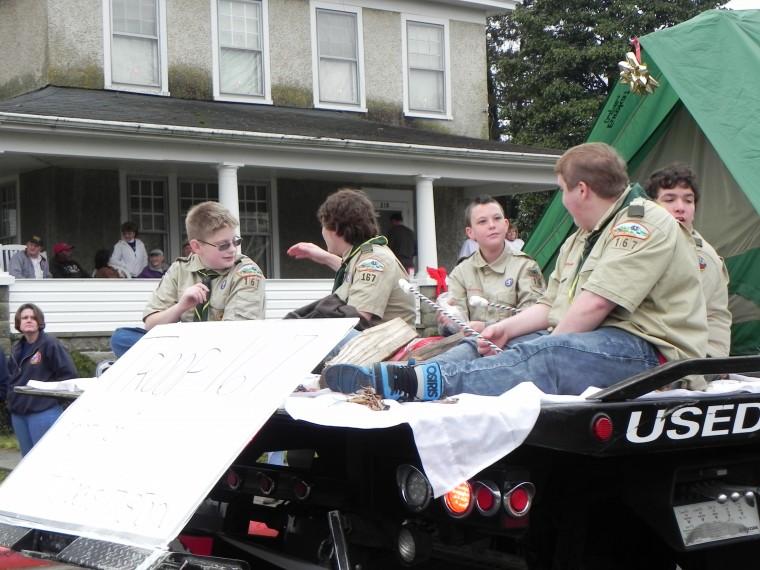 Hurlock Christmas Parade 2012