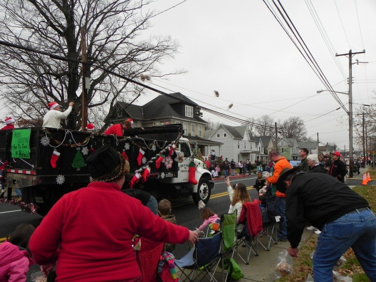 Toys for all at parade