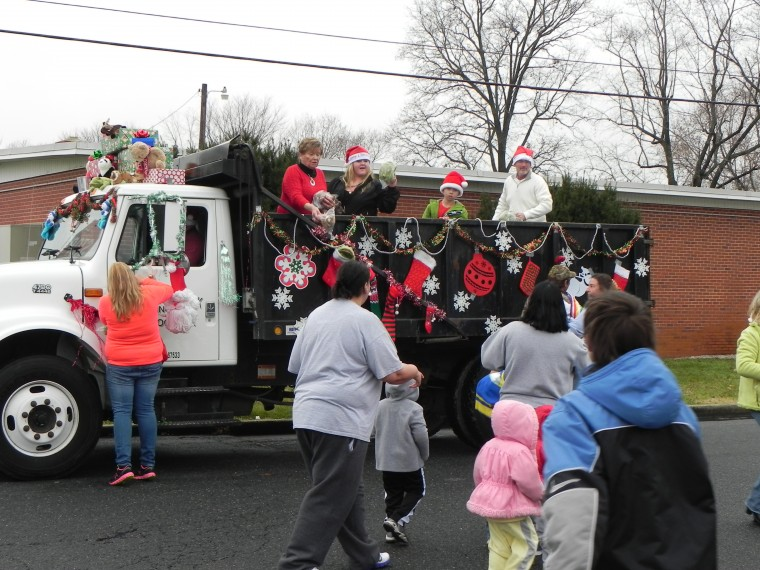Toys for all at Hurlock Christmas Parade