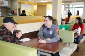 Coffee with a Cop connects officers with community