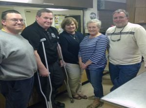 DSS advisory board serves meal at Haven Ministry Shelter