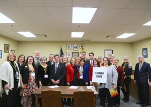 Arts advocates visit legislators
