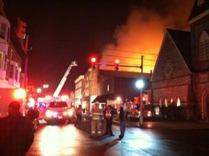 Cambridge apartment fire