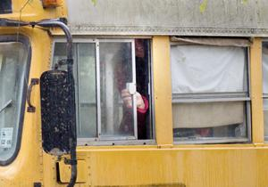 Children Abandoned Bus