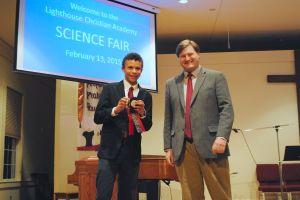 Lighthouse Christian Academy hosts science fair