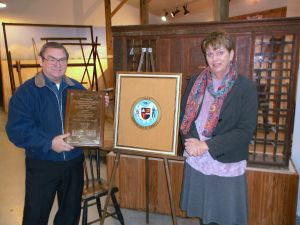County seal gifted to historical society