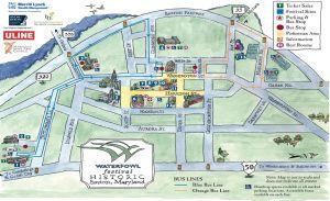 Waterfowl Festival Map