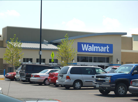 The gallery for --> Super Walmart Building