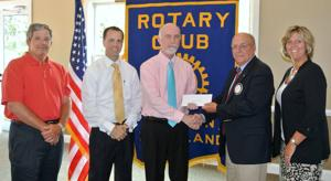 Rotary Club of Easton makes donation to Meals on Wheels