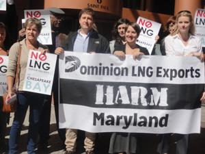 Group opposes Calvert County natural gas facility