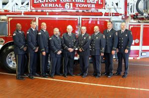 Easton Volunteer Fire Department dedicates new truck