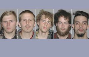 Brandon Baxter, Anthony Hayne, Joshua Stafford, Connor Stevens, Douglas Wright