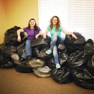 Queenstown Bank donates 2,000 pairs of shoes to Soles4Souls