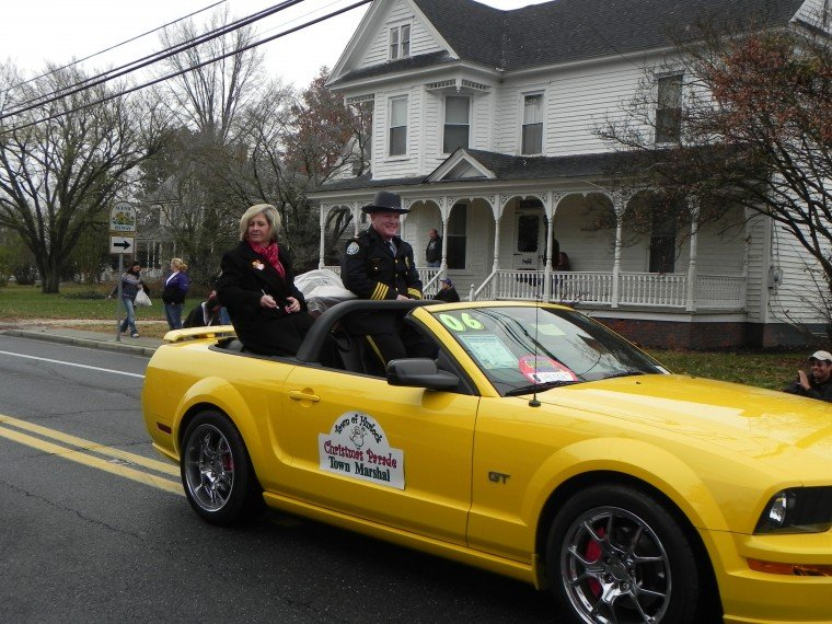 Police Chief Les Hutton is town marshal