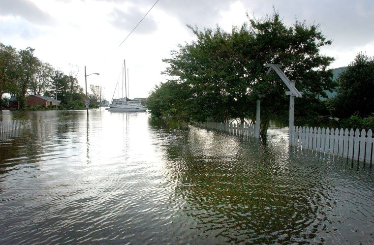 Hurricane Isabel revisited 10 years later