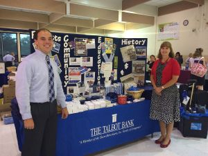 Talbot Bank participates in TCPS fair