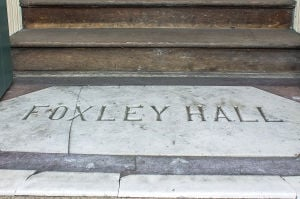 Foxley Hall entrance 2