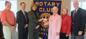 Easton Rotary supports veterans at Talbot Hospice