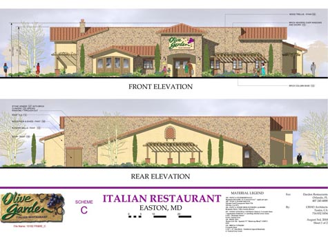Olive Garden Considers U S Route 50 Site In Easton
