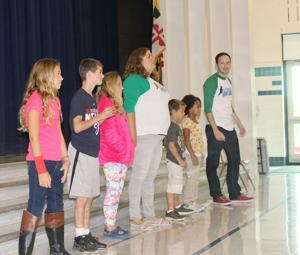 Baltimore Improv Group works with Tilghman Elementary students