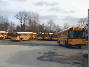 Public protests outsourcing of transportation at Talbot Board of Ed
